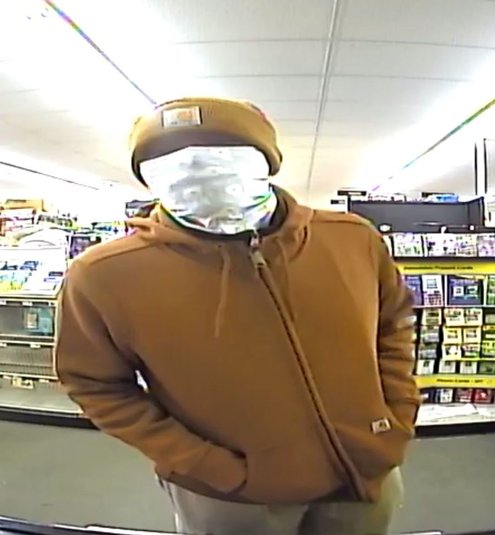 Chocowinity police say this is one of two men who robbed the Family Dollar.