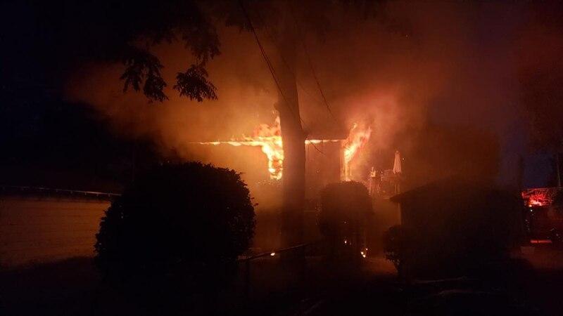 Fire in Goldsboro