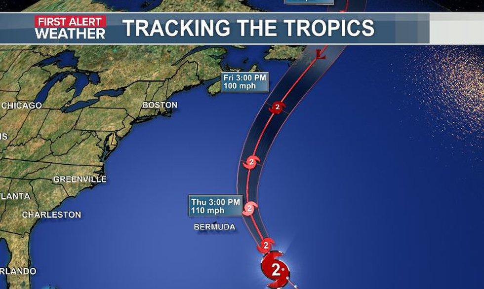 Hurricane Larry Update