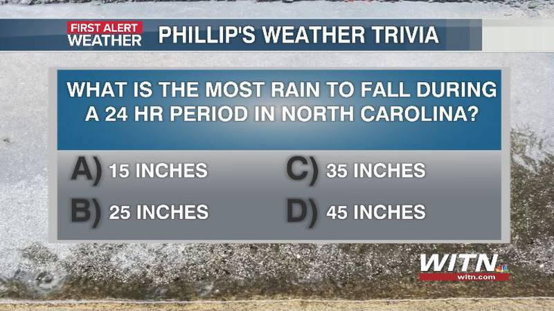 Phillip's Weather Trivia Question Aug 17
