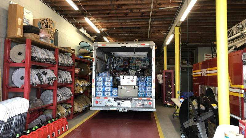 ABFD Hurricane Relief Supplies
