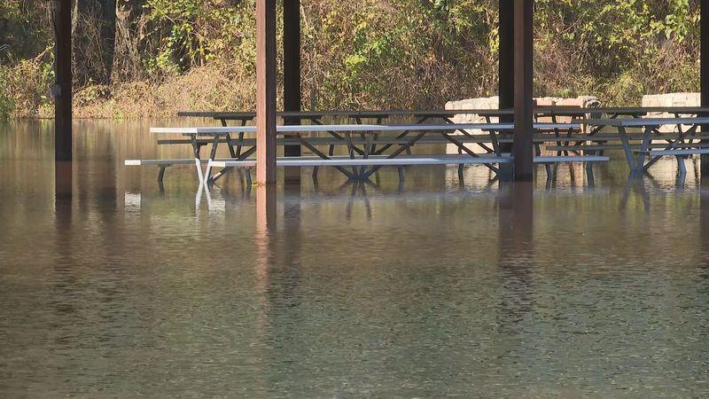 Neuseway Nature Park deals with flooding again.