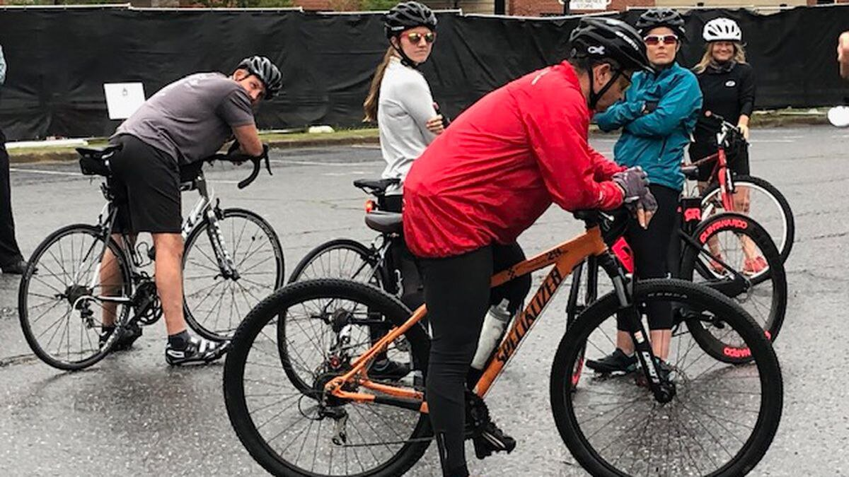 2020 Ride of Silence in Greenville, NC