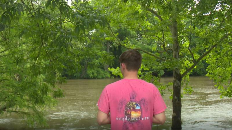 Zachary Grady saved two people who fell into the Neuse River