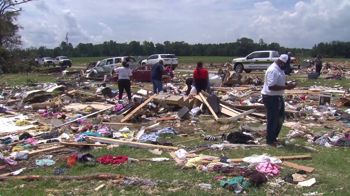 Two people died and twelve others injured at this mobile home park.