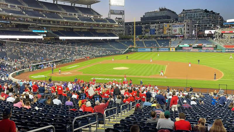 Lawmakers suit up for Congressional Baseball Game.