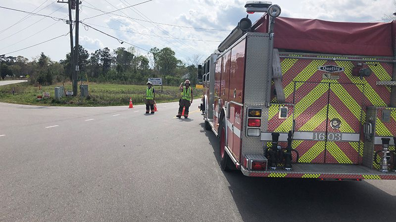 Two people were killed Friday afternoon outside of Jacksonville.
