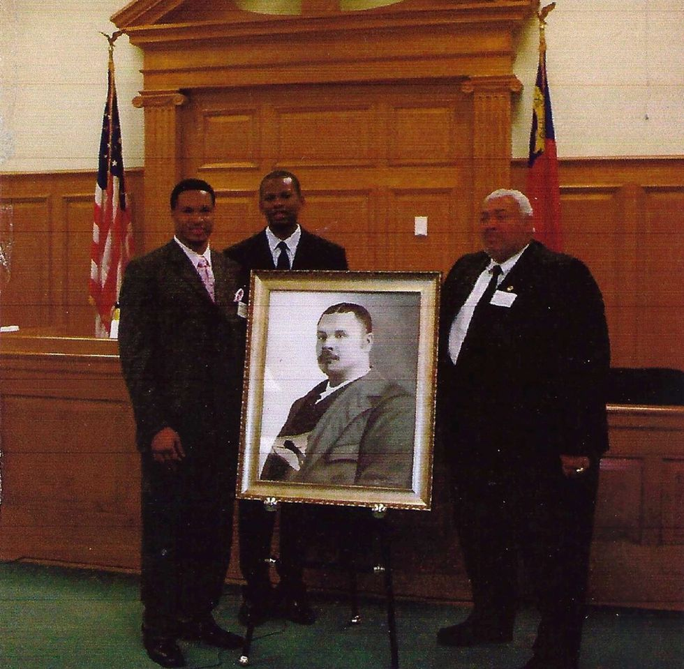 Richard Wilson painted the George Henry White portrait that is in the Edgecombe County...