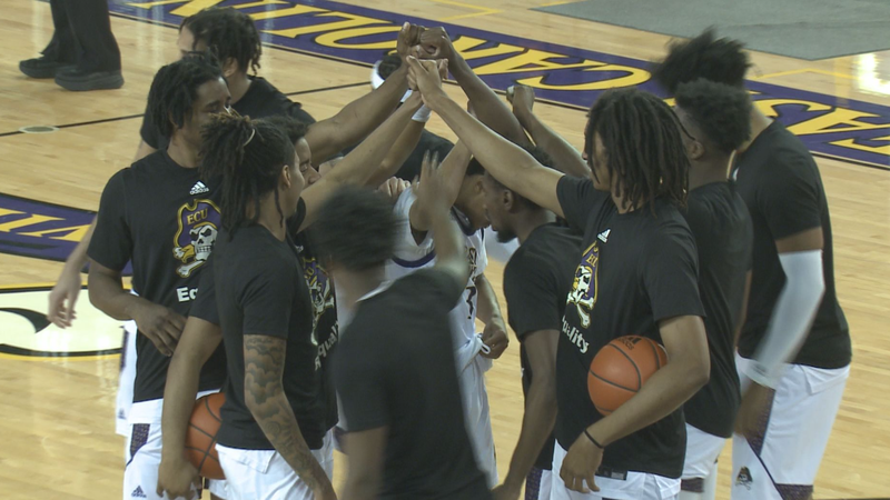 ECU Men's Basketball hosts Memphis on Sunday, Jan. 24 inside Minges Coliseum in Greenville, N.C.