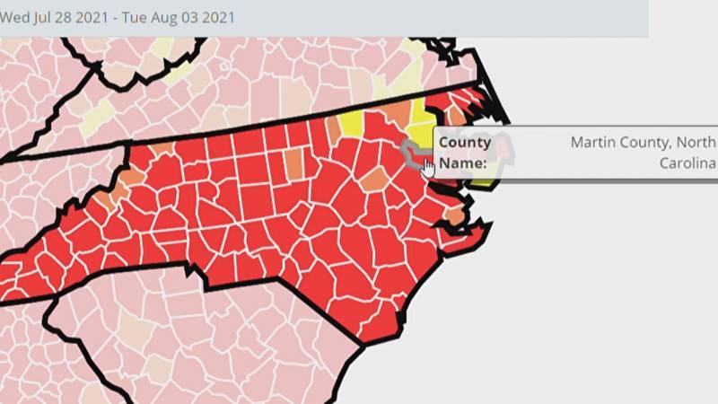 CDC Covid Data Tracker on Thursday.