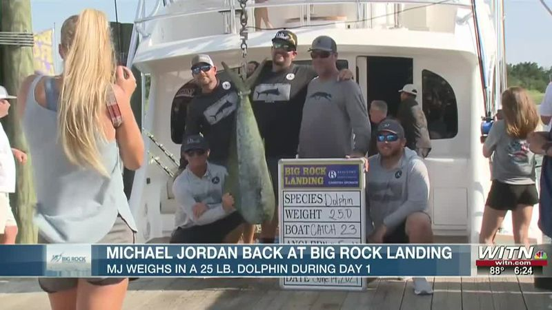 Catch 23 reels in dolphin on Monday