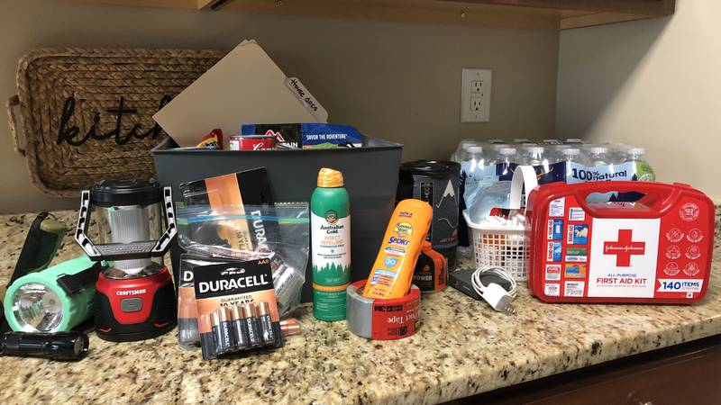 Emergency Officials urge you to make your Hurricane Kits