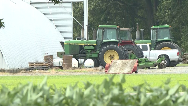 Heavy rain in Eastern North Carolina could cause issues for farmers.