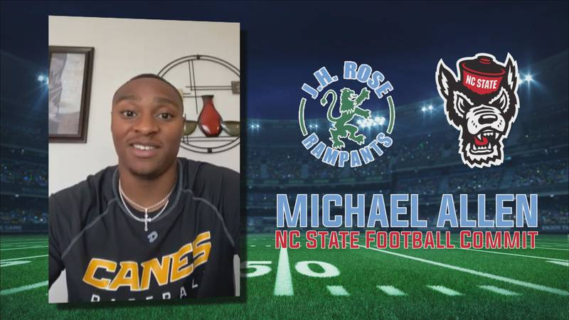J.H. Rose four-star RB Michael Allen commits to N.C. State