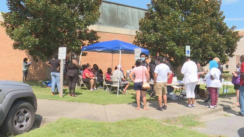 Kinston Teens hosts back-to-school event.