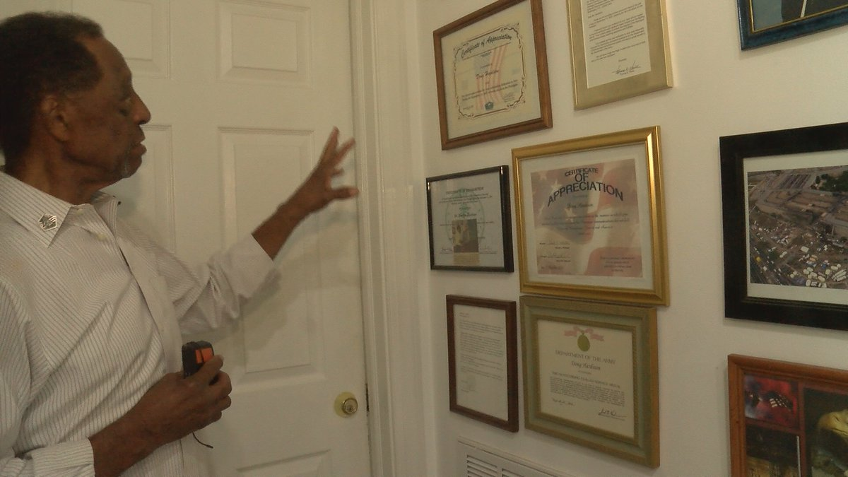 Douglas Hardison, looking at awards received from 9/11.