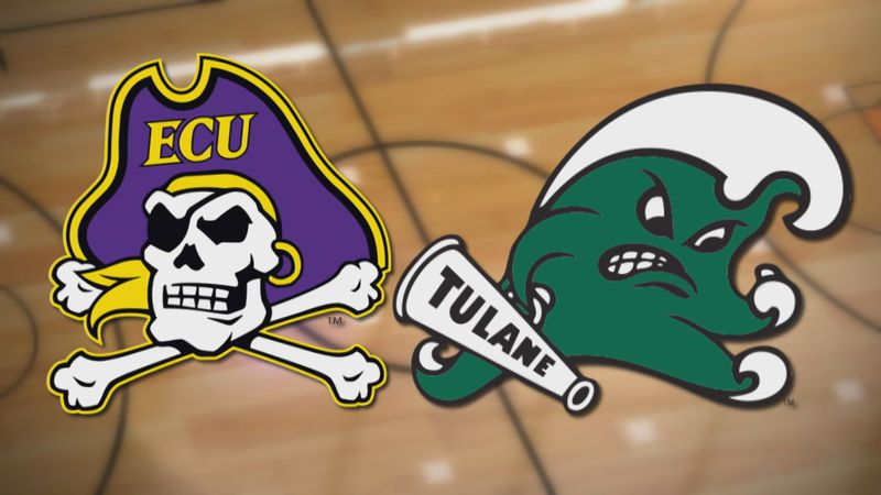 ECU Basketball at Tulane