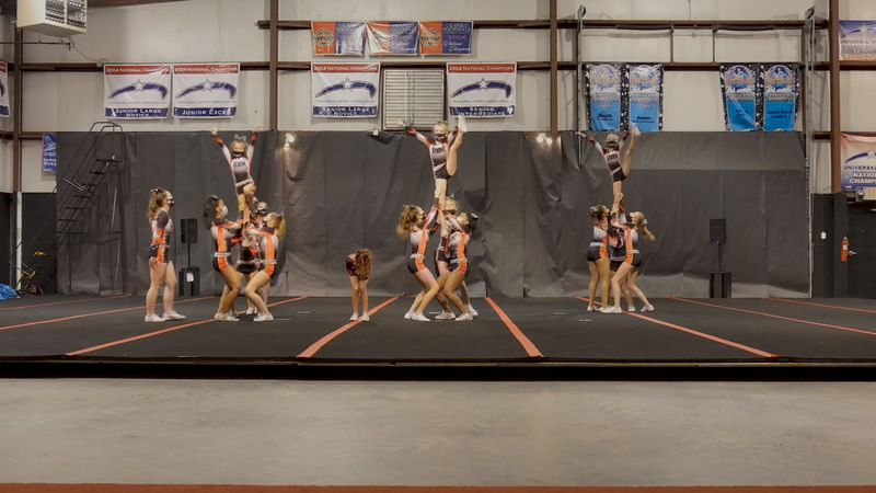 FAME Allstars Greenville spent months preparing safely amid the pandemic to compete at the...