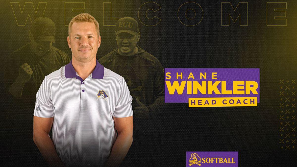 Shane Winkler ECU Softball