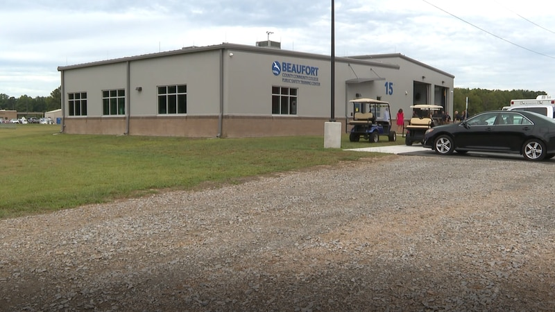 New Public Safety Training Center at Beaufort County Community College.