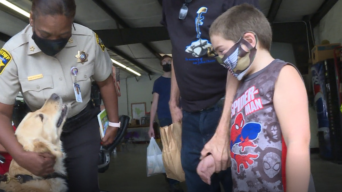 The Pitt County Sheriff's Offices holds National Night Out event.