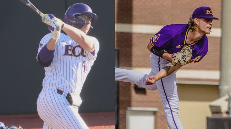 Moylan and Whisenhunt - ECU Baseball