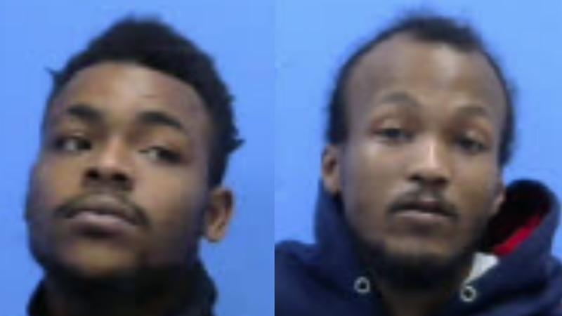 Kateo Harris Jr. and Nyati Garner turned themselves in to Roanoke Rapids Police on Dec. 23...