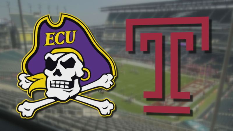 ECU Football at Temple
