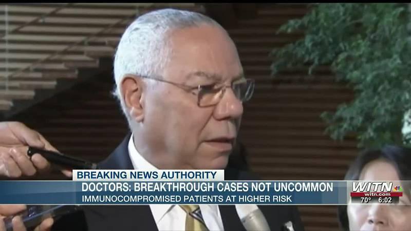 Local health expert explains Colin Powell breakthrough COVID case