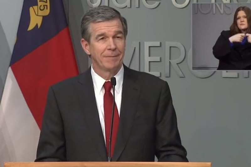 Gov. Roy Cooper discusses when and how state workers return to offices