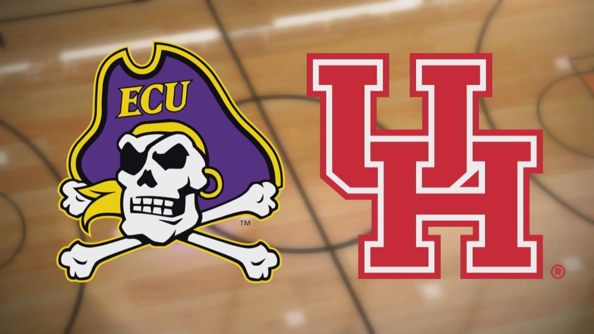 ECU at Houston Basketball