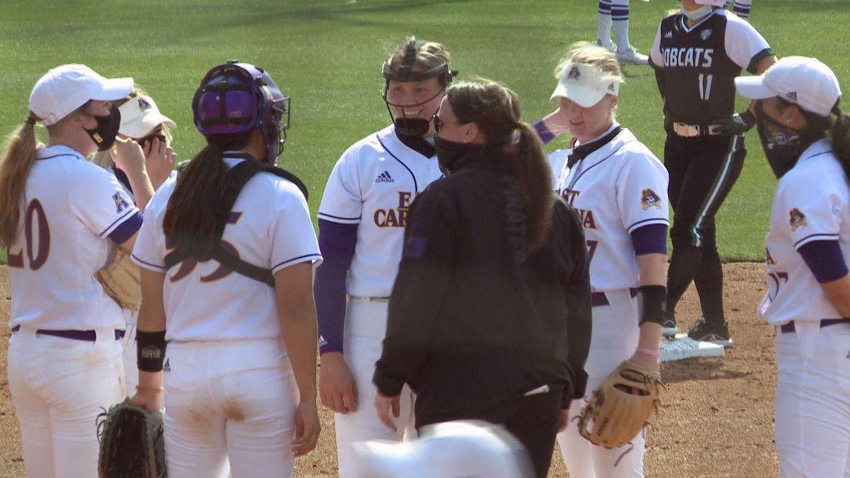 ECU softball hosts Ohio