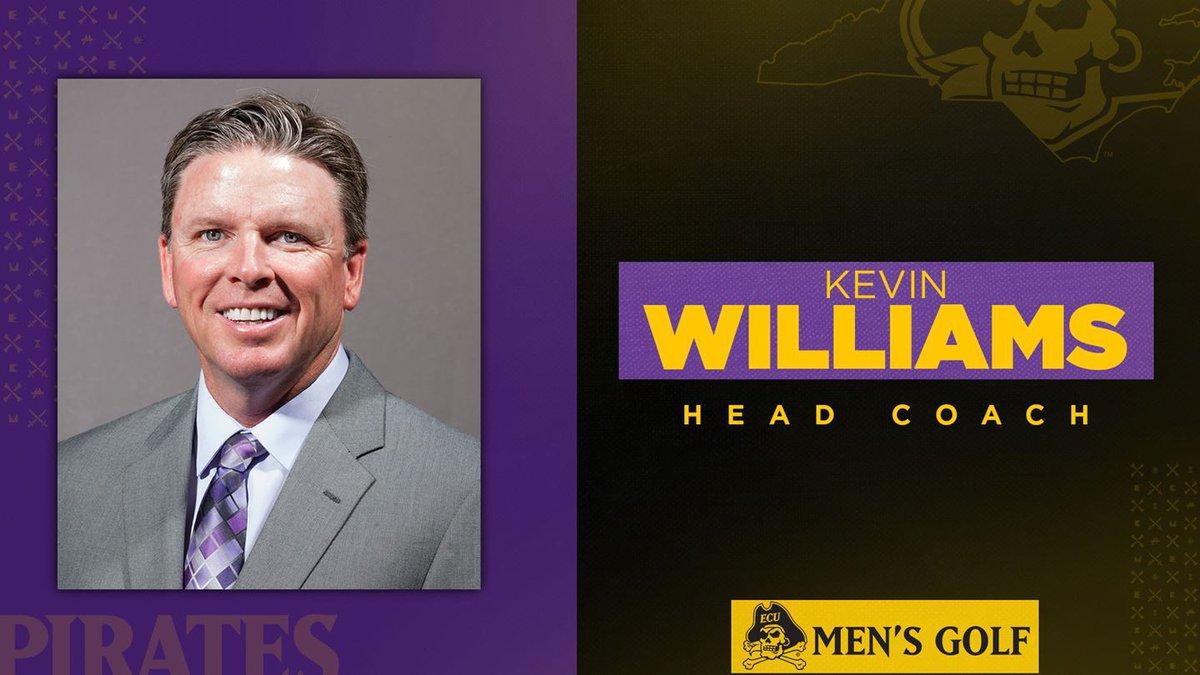 Kevin Williams ECU Men's Golf