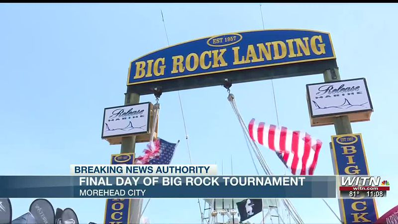 """""""Widespread"""" winner of the Blue Marlin Biggest Catch category at Big Rock tournament"""