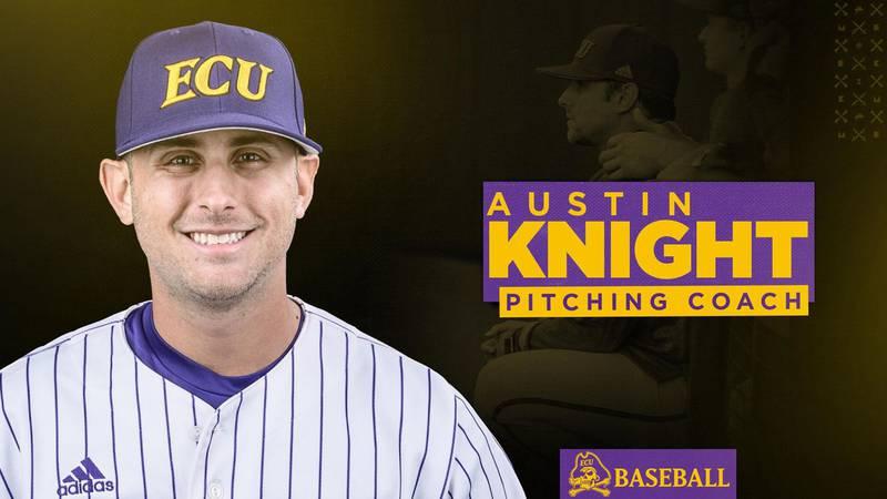 Austin Knight - ECU Baseball Pitching Coach