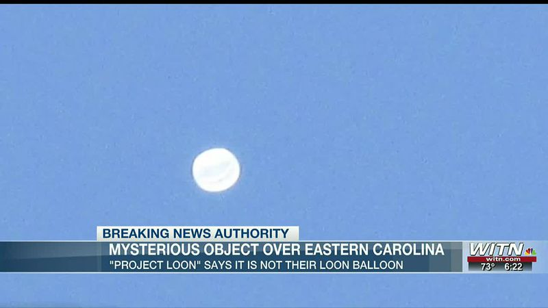 What's that in the sky? Object spotted over Greenville