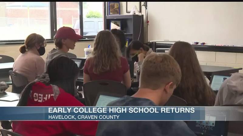 New school year starts for some eastern Carolina high schools