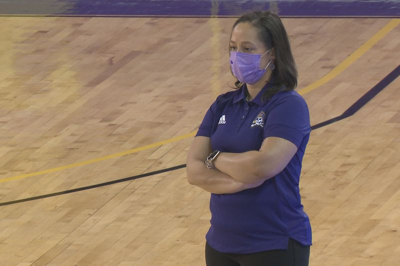 Kim McNeill ECU Women's Basketball 1-16-21