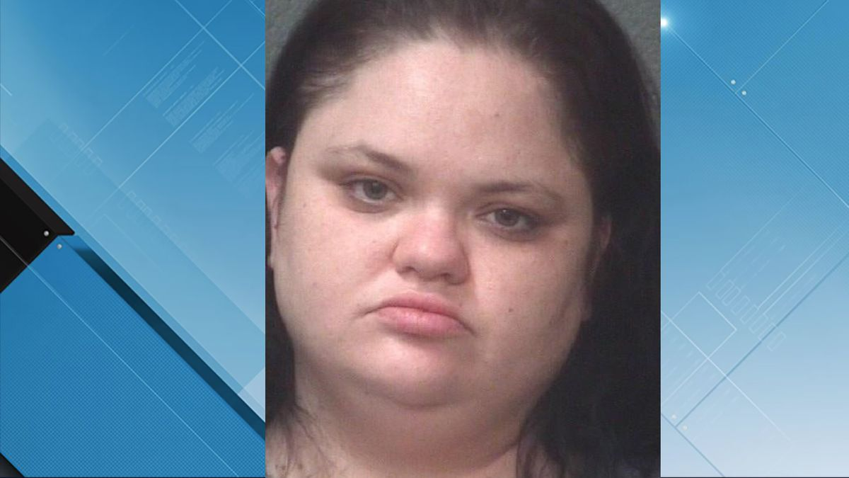 Misty Holt, 30, of New Bern, is charged with 35 counts of felony obtaining property by false...