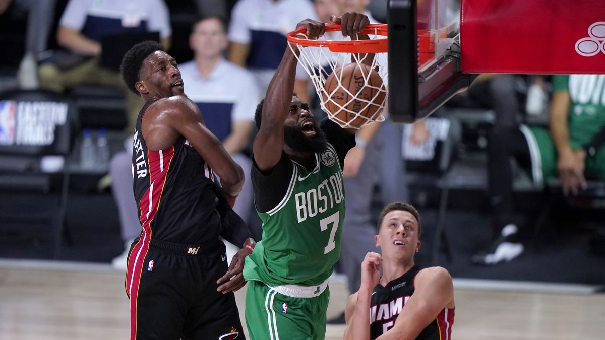 Adebayo Scores Game High 27 Points But Celtics Top Heat 117 106