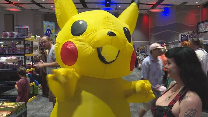 Comic Con returns after being canceled last year.