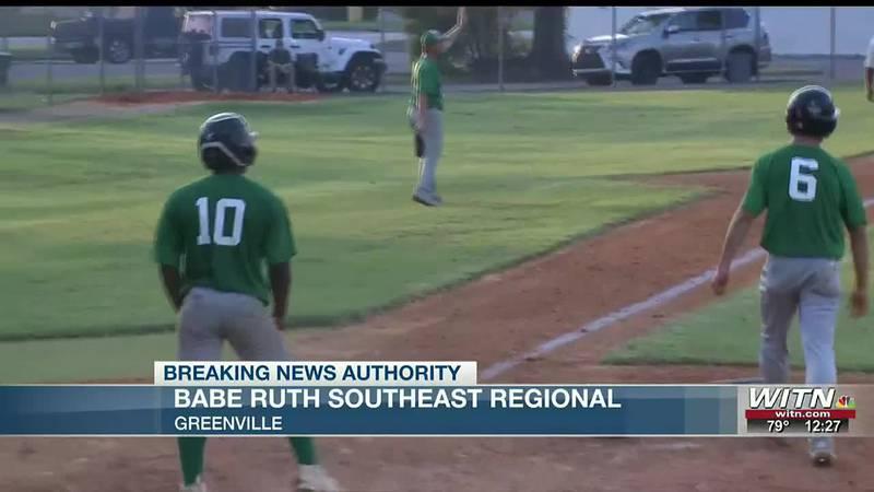 Greenville hosting Babe Ruth southeast regional, wins opener