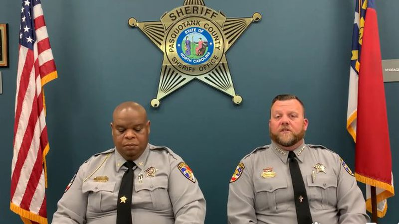 Pasquotank County Sheriff and Chief Deputy discuss fatal shooting