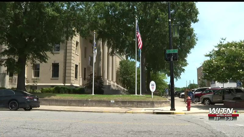 American flags fly proudly in ENC for Flag Day