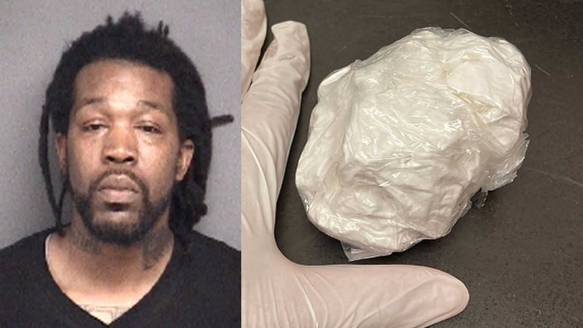 Pitt County deputies say that Myshaun Stanback was found with nearly five ounces of cocaine...