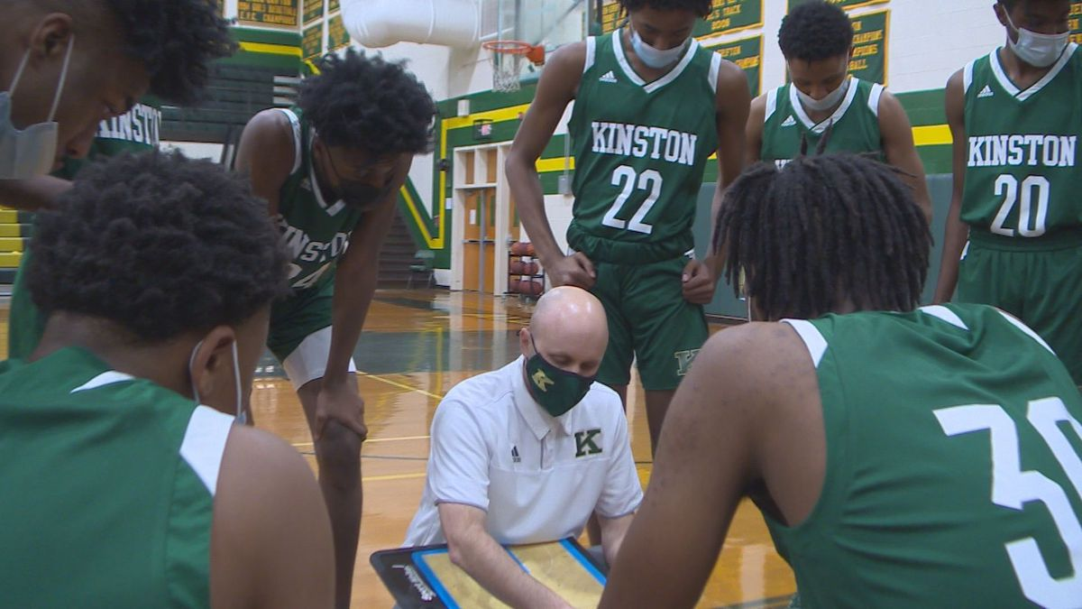Kinston Basketball at Ayden-Grifton on Friday, Feb. 19, 2021