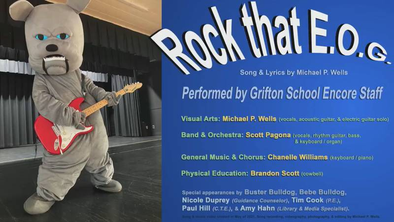 """Grifton School wants students to """"Rock that E.O.G."""""""