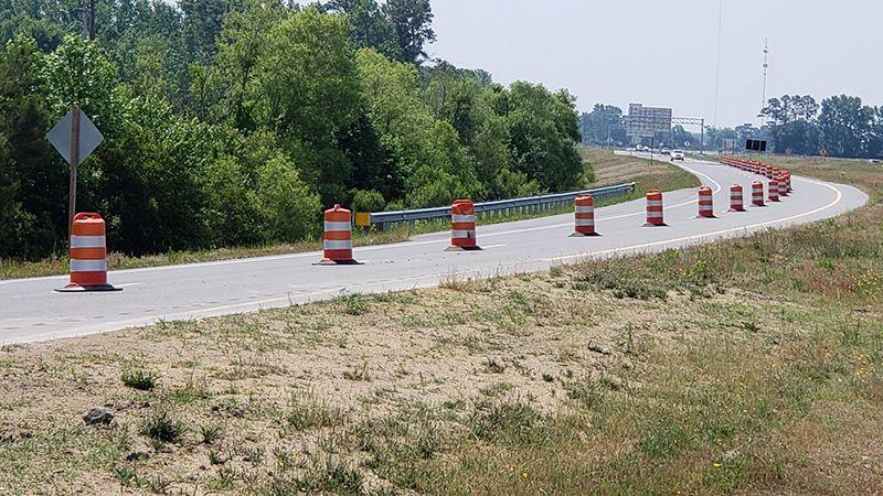 The North Carolina Department of Transportation says it will shut down major construction...