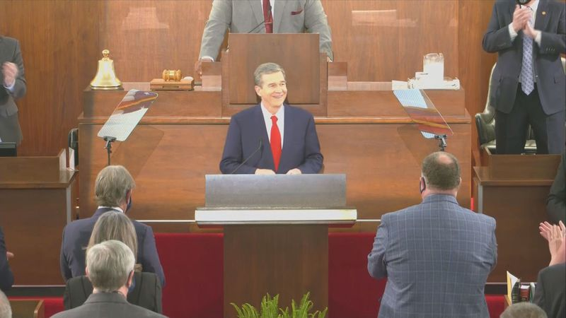 Governor Cooper had his State of the State address Monday night.