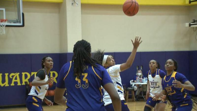 ECU women's basketball team expectations for upcoming season.